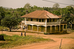 Blama Village IV (unipus) Tags: africa architecture sierraleone blama