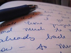 From the past (writemeg) Tags: pen writing handwriting journal cursive