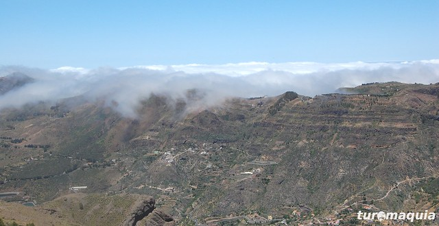 Mar de nubes Gran Canaria