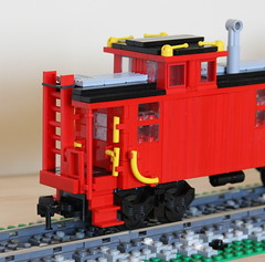 For Tim (swoofty) Tags: train lego caboose ncstl woodsided