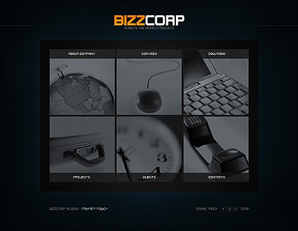 Flash site 21092 Bizzcorp