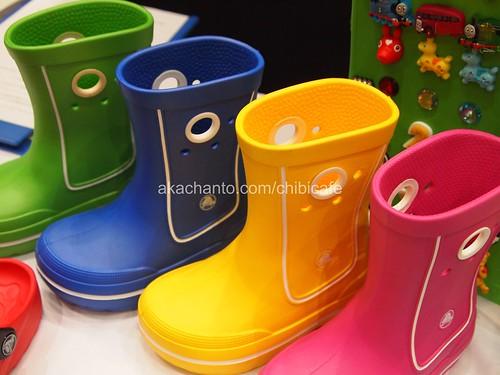 クロックス キッズレインブーツ crocs kids rainboots