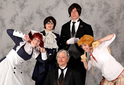 Animazement Friday, 2011: Black Butler Costume Group