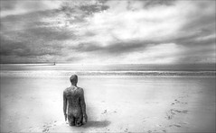 In It (~ paddypix ~) Tags: england statue liverpool ironman crosby merseyside anthonygormley anotherplace
