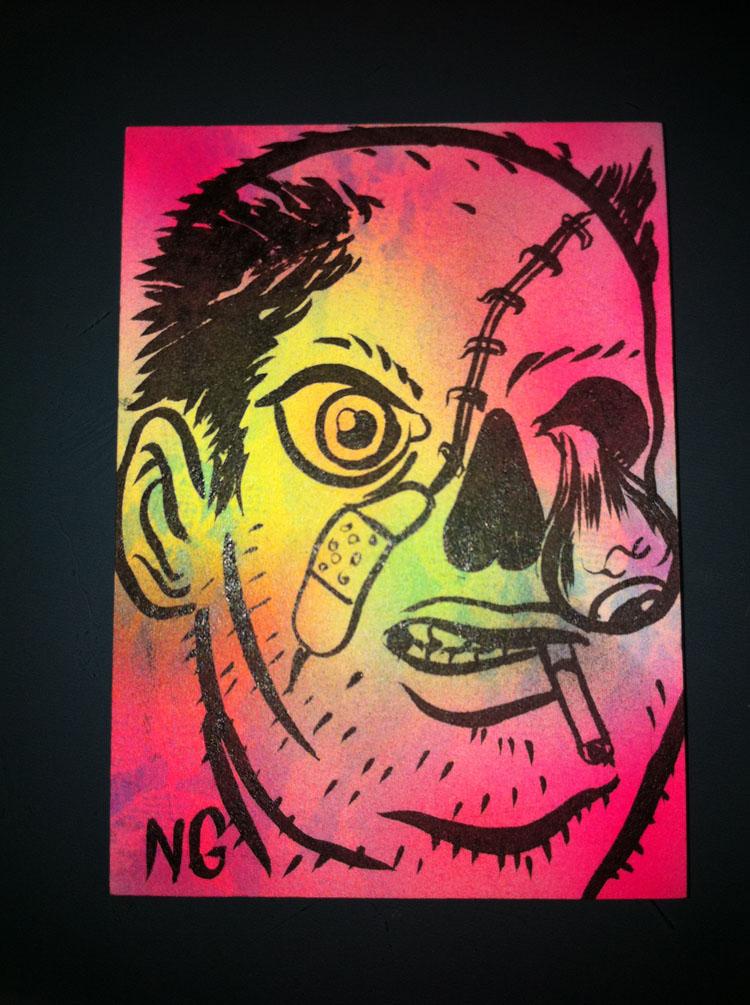 2011/04/18 Lamour Supreme Portrait Sketch Card