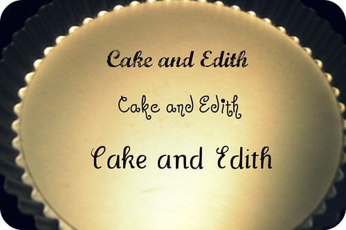 Cake and Edith 2
