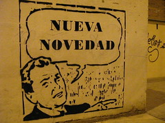 nadie (nadie en campaña) Tags: streetart graffiti stencil plantilla nadie nuevanovedad votanadie