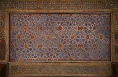 Chehel sotoun ceiling baraneh tags iran esfahan isfahan