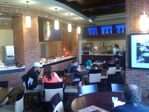 The upscale cafeteria at the University of Tampa