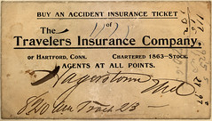 Accident Insurance Ticket uploaded by PaperScraps