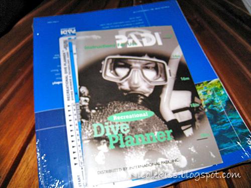 padi course book