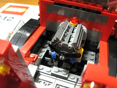 レゴクリエイター トラック エンジン