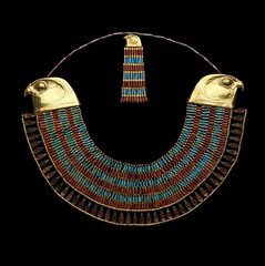collar of neferuptah (sergiothirteen) Tags: egyptianart egyptiangold