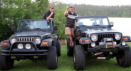 The Rogers Brothers' Jeeps. So Chill