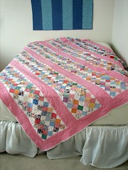Quilt on angle