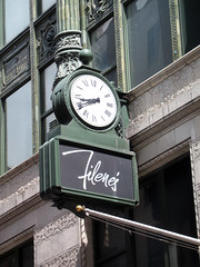 Filene's Clock