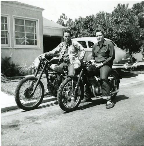 vintage jawa sport motorcycles