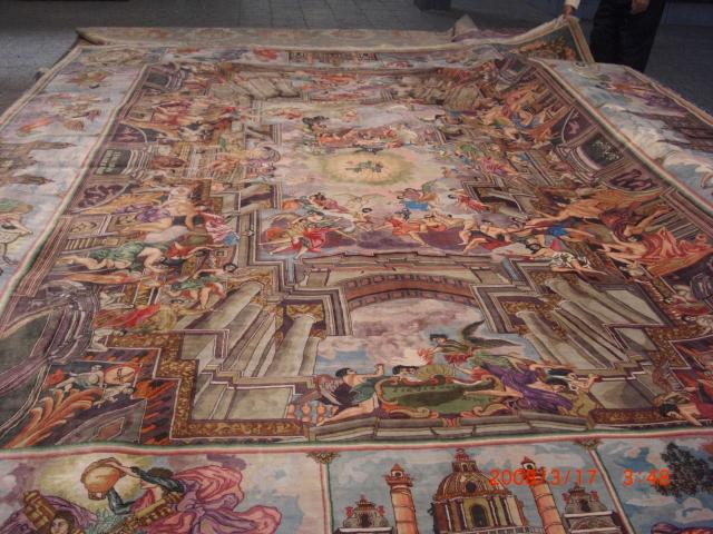 Inglesia San Pedro en Vaticano, Roma, Italia.