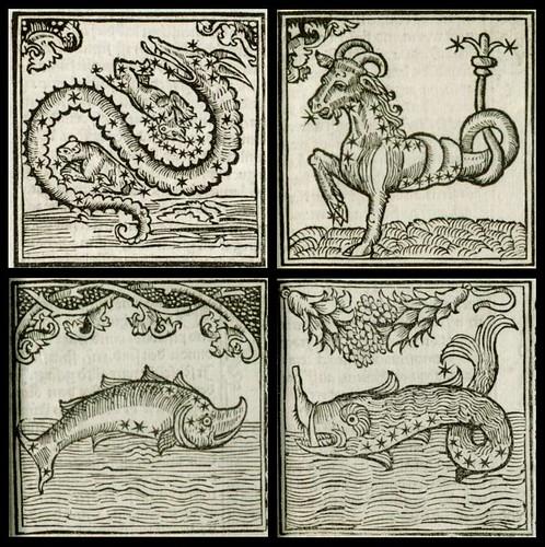 Johannes Regiomontanus - Kalender, Augsburg 1512 (astrological sign details)