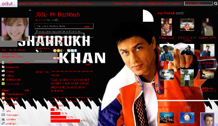 SRK plain theme