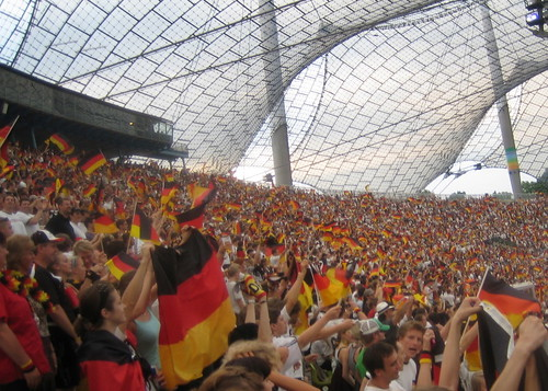 Public Viewing im Olympiastadion