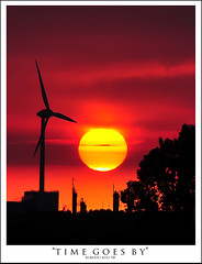 Second clue: Windmills!! (Spijkenisse) (B'Rob) Tags: sunset sun streetart art mill sol netherlands true atardecer photography photo yahoo google rojo nikon flickr paradise shot picture windmills best molino wikipedia holanda eden refinery paraiso spijkenisse d300 generador refinera 18200mm molin brob conexintequila imperiodelsol brobphoto