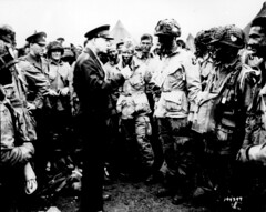 General Dwight D. Eisenhower gives the order o...