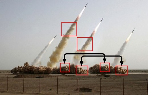 PHOTOSHOPPED MISSILES