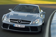 Mercedes SL 65 AMG Black Series picture