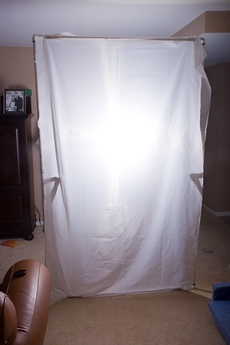 'Tinker Tubes' self-standing light panel (front)