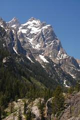 The Face of the Grand Teton (Trevor Ducken) Tags: usa mountain landscape outdoors nationalpark nikon hiking wyoming teton inspirationpoint grandteton d40