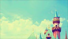 It All Started with a Mouse... (Cherie) Tags: world california blue sky usa castle clouds mouse king all with magic palace it disney queen land walt started cherie noonah cheriee