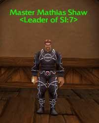 Mathias Shaw <Leader of SI:7>