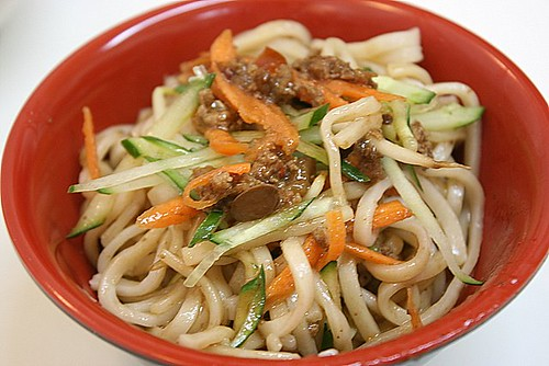Zha Jiang Mian mixed