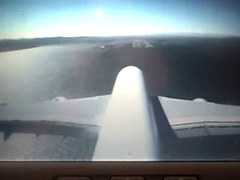 Tailcam Video: Airbus A380 Landing at SFO (Telstar Logistics) Tags: sanfrancisco video sfo landing airbus a380