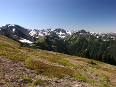 Upper Lillian Valley from Ridge