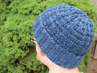 Waffle Stitch Knit Hat Pattern : Ravelry: Waffle Hat pattern by Gail Bable