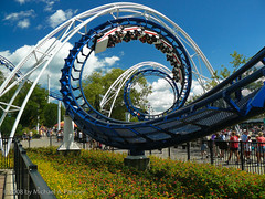 The Corkscrew (Michael Pancier Photography) Tags: ohio parks rollercoaster cedarpoint fineartphotography naturephotography seor themeparks sandusky naturephotographer thecorkscrew floridaphotographer michaelpancier michaelpancierphotography impressedbeauty wwwmichaelpancierphotographycom seorcohiba