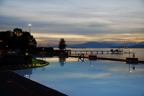 Kitsilano Pool Sunset