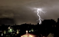 Springs lightning (In dust we trust) Tags: coloradothunderstorms