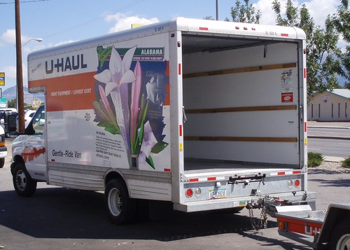 U-Haul w/ Arizona plate