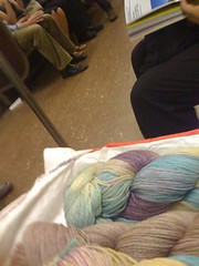 Subway yarn petting