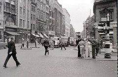 High Holborn, London, 2 August 1955 (allhails) Tags: london holborn kingsway policeman lyons highholborn bx14