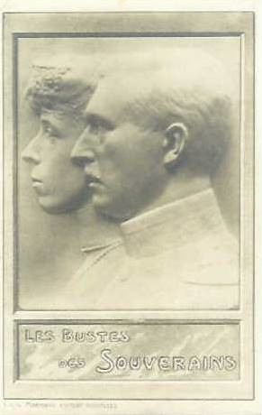 König Albert I. & Königin Elisabeth von Belgien