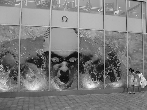 Photo of Michael Phelps advertisement by Flickr user Cory M. Grenier used under Creative Commons license