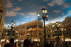 The Venetian Macau () - Renaissance Venice-themed shopping mall (My Hourglass) Tags: world venice light building mall shopping hotel nikon asia d70s casino structure resort strip theme venetian macau renaissance largest  cotai cotaistrip