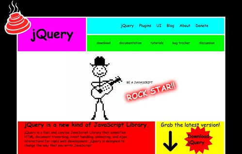 jQuery website mockup by cole007.