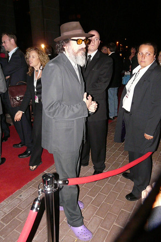 Borat Director and Seinfeld Writer Larry Charles talks with the Fans at Ryerson University Theater outside of the Tiff '08 Premiere of His new documentary, Religulous