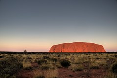 We did not climb Uluru (nosha) Tags: park red holiday nature beauty rock nationalpark oz australia tourist explore creativecommons uluru ayers 2008 redcenter northernterritory ayersrock spinifex redcentre 1000places explored australia2008 wedidnotclimbuluru notclimbuluru doautraliansspellitcentre