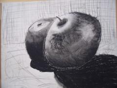 Charcoal still life (Triss)